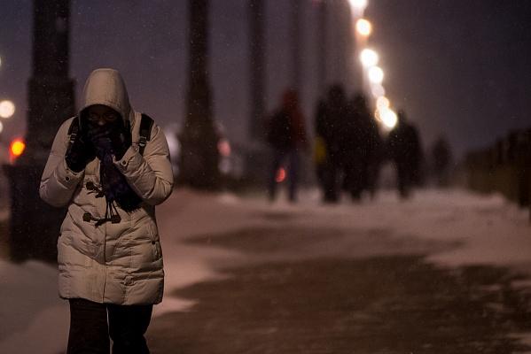 «Желтый» уровень опасности объявлен в столицеРФ из-за снега