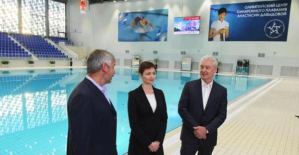 Всовременном Центре синхронного плавания будут заниматься молодые москвичи