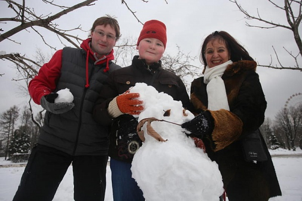 Парад арт-снеговиков состоится вТроицке