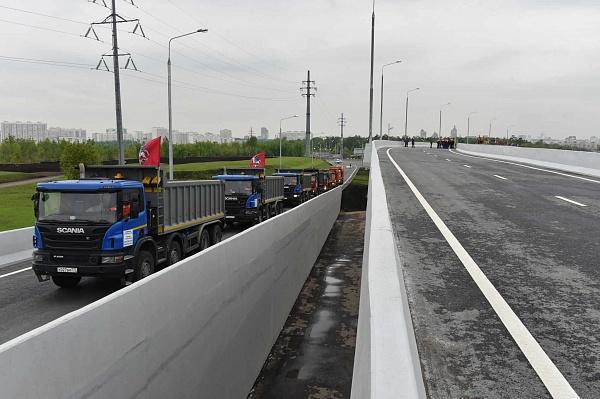 К 2035г. вНовой российской столице построят порядка 700км новых дорог