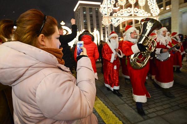 Юзеры «Активного гражданина» оценят минувшие в столице новогодние мероприятия
