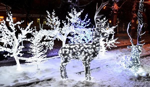 Москвичей ждет Путешествие в Рождество